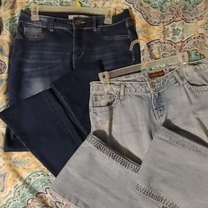 Two Pair of Ladies Jeans size 8 and 9/10